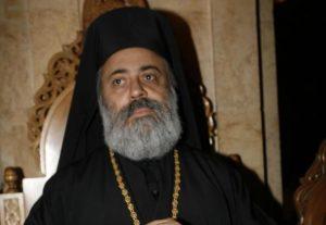 Το Πατριαρχείο Αντιοχείας για τον απαχθέντα Μητροπολίτη Χαλεπίου Παύλο
