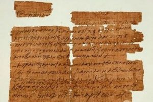 Христианский манускрипт, которому 1500 лет, обнаружен в библиотеке в Манчестере