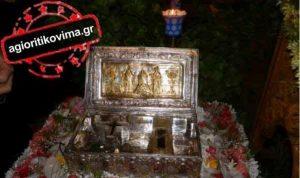 В Афинах православные  верующие смогли поклониться деснице Марии Магдалины из Симонопетра (ФОТО & ВИДЕО)