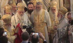 В атмосфере торжественности состоялось рукоположение нового епископа Мефонии и главного секретаря Священного Синода Климента Куцомити (ФОТО)