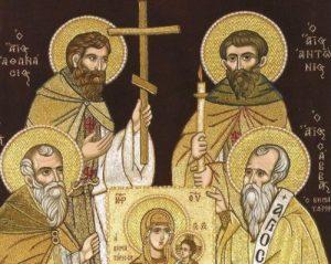 Οι Οσιοι Κτήτορες της Μονής Βατοπαιδίου