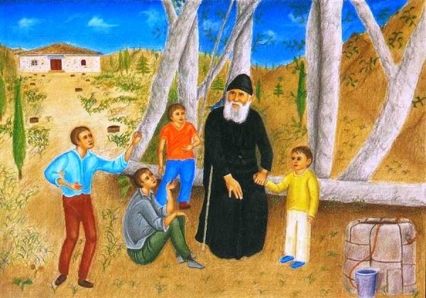 Αποτέλεσμα εικόνας για αγιος παισιος παιδια