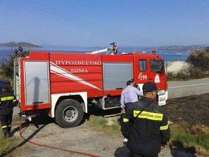 Φωτιά τώρα: Μεγάλη πυρκαγιά στη Κινέτα