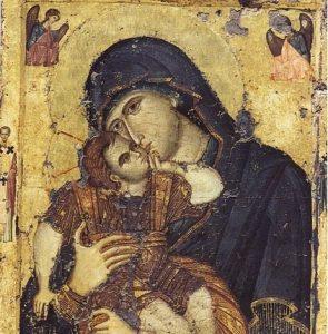 Η θλίψη και η αγάπη της Παναγίας
