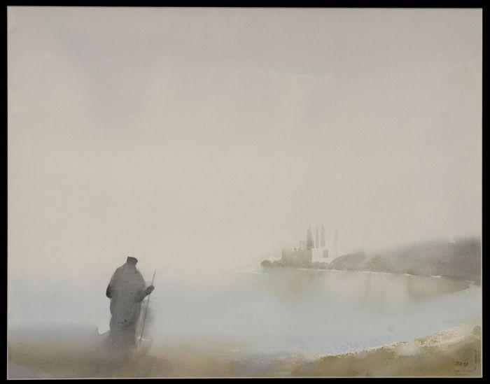 1 Ζντράβκο Μάντιτς, Δρόμος, 1998 (συλλογή Αγιορειτικής Πινακοθήκης).jpg