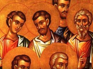 8 Απριλίου- Γιορτή σήμερα: Των Αγίων Αγάβου, Ρούφου, Φλέγων και Ασύγκριτου από τους 70 Αποστόλους