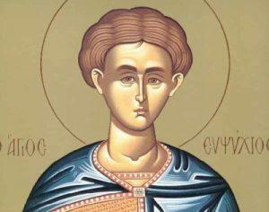 9 Απριλίου- Γιορτή σήμερα: Εορτή του Αγίου Ευψυχίου