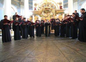 Οι «Θεσσαλονικείς Υμνωδοί» στο Κρεμλίνο (ΒΙΝΤΕΟ)