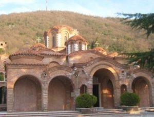 Μονή Μεταμορφώσεως του Σωτήρος στον Χορτιάτη Θεσσαλονίκης (ΦΩΤΟ)