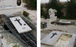 Απίστευτο! Άνοιξαν τάφους και φέρετρα στα Τρίκαλα!