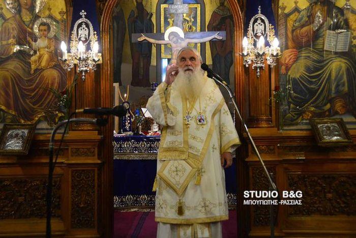 Αρχιερατικός Εσπερινός και Αρχιερατική Θεία Λειτουργία των Χριστουγέννων στον Καθεδρικό Ι.Ν Αγίου Πέτρου Άργους