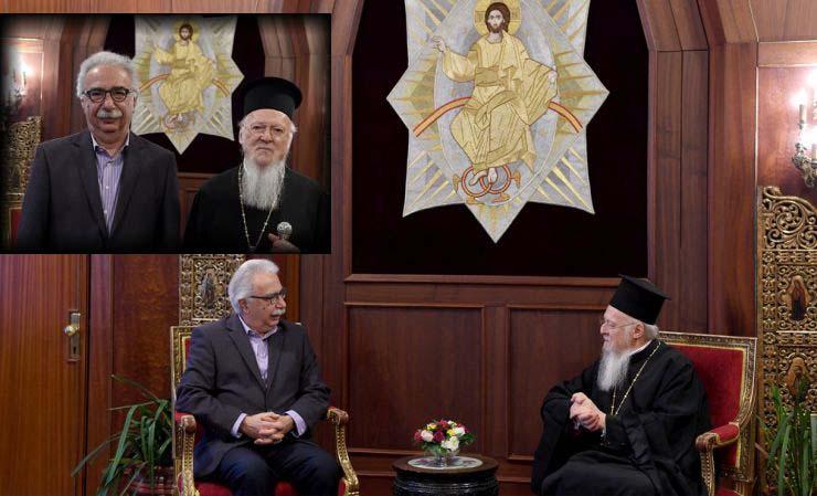 Ο Γαβρόγλου στο Φανάρι: Ο διάλογος και το γεύμα με τον Βαρθολομαίο