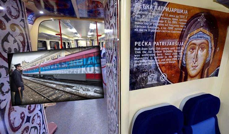 Βελιγράδι: Το τρένο γεμάτο εικόνες Αγίων που λίγο έλειψε να προκαλέσει πόλεμο (ΦΩΤΟ)