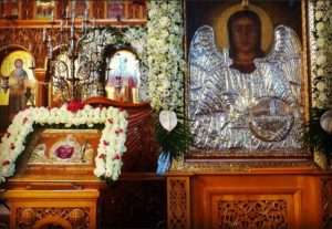 Τρία χρόνια Παρακλήσεων των Αρχαγγέλων Μανταμάδου στην Καλογρέζα (ΦΩΤΟ)