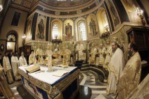 Κυριακή της Ορθοδοξίας: Συνοδική Θεία Λειτουργία