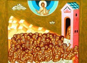 9 Μαρτίου- Γιορτή σήμερα: Των Αγίων Σαράντα Μαρτύρων που μαρτύρησαν στη Σεβάστεια