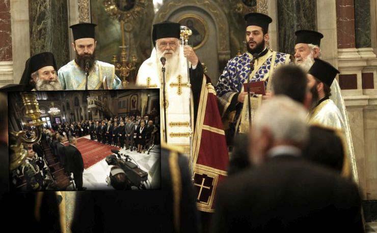 Δοξολογία στην Αθήνα από τον Αρχιεπίσκοπο για την 25η Μαρτίου (ΦΩΤΟ)