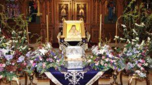 Η Ι.Μ. Μάνης υποδέχεται λείψανο του Αγίου Λουκά του Ιατρού