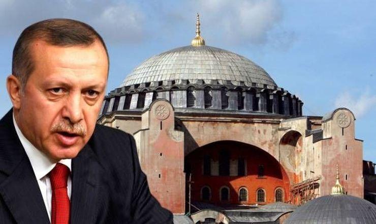 Προσευχή τη Μ.Εβδομάδα στην Αγιά Σοφιά ετοιμάζει ο Ερντογάν