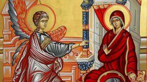Ευαγγελισμός της Θεοτόκου: Λόγος του Αγίου Ιωάννου του Χρυσοστόμου