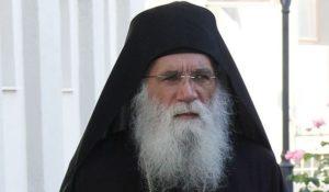 Ο Πρωτοσύγκελλος της Ιεράς Μητροπόλεως Φωκίδος Γέροντας Νεκτάριος Μουλατσιώτης  Αρχιμανδρίτης – Καθηγούμενος