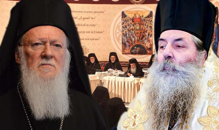 Επίσκεψη με νόημα στελεχών της Ι.Μ. Πειραιώς στον Οικουμενικό Πατριάρχη