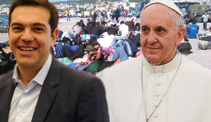 Ο Πάπας ευχαρίστησε τον Τσίπρα για την… αριστερή ευαισθησία του