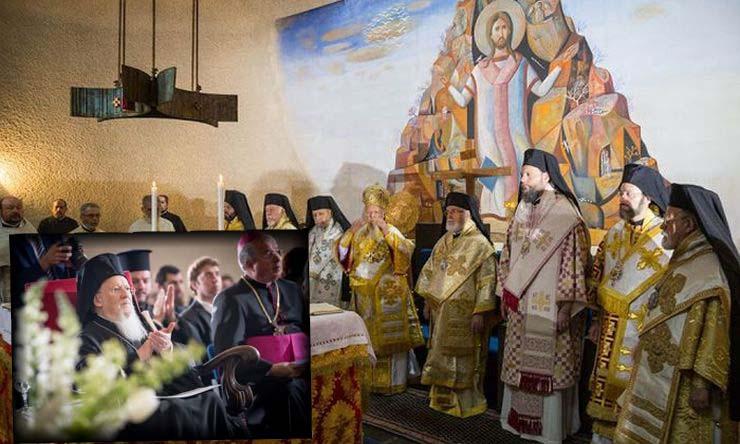Πατριαρχική Θεία Λειτουργία στο Σαμπεζύ (ΦΩΤΟ)