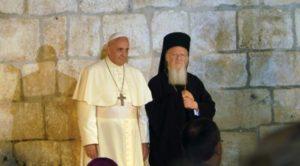 Στο Βατικανό ο Οικ.Πατριάρχης – Θα συναντηθεί με τον Πάπα