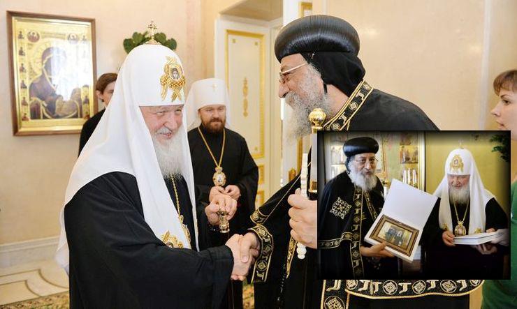 Η τρομοκρατία κυριάρχησε στη συνάντηση του Ρώσου με τον Κόπτη Πατριάρχη (ΦΩΤΟ)