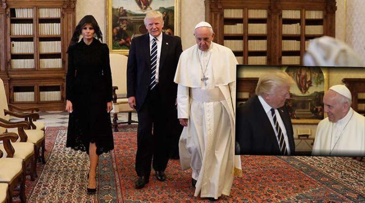 Στο Βατικανό ο Ντ.Τραμπ, τι ειπώθηκε στη συνάντηση με τον Πάπα (ΒΙΝΤΕΟ & ΦΩΤΟ)