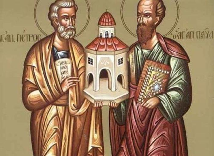 Αγρυπνία Αγίων Πέτρου και Παύλου