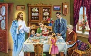 Προσευχές πριν και μετά το φαγητό