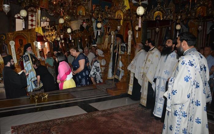 Πανηγύρισε η Ιερά Μονή Αγίου Παντελεήμονος Χρυσοκάστρου (ΦΩΤΟ)