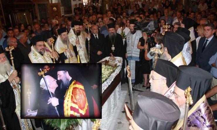 Πλήθος Ιεραρχών και λαού στην Εξόδιο Ακολουθία της μητέρας του Μητροπολίτη Πατρών