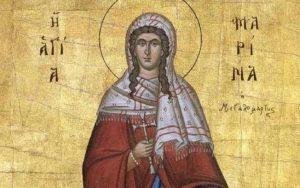 Αγία Μαρίνα: Βίος και θαύματα