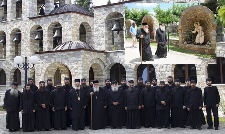 Τα Ησυχαστήρια του Τρικόρφου Φωκίδος επισκέφθηκε ο Αρχιεπίσκοπος Ιερώνυμος (ΦΩΤΟ)