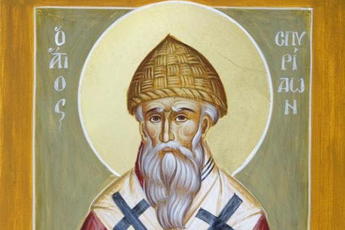 Αποτέλεσμα εικόνας για άγιος Σπυρίδων