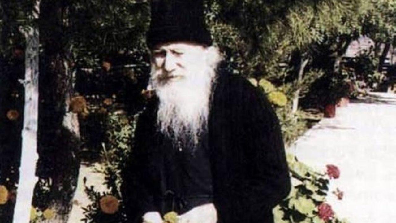 Πάσχα με τον Αγιο Γέροντα Πορφύριο