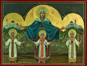 Η Αγία Σοφία και οι Αγίες κόρες της, Πίστις, Ελπίς και Αγάπη
