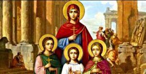 Αγία Σοφία: Πρότυπο Χριστιανής μητέρας