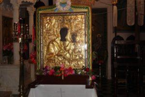 Παναγία Μυρτιδιώτισσα: Η θαυματουργή εικόνα στα Κύθηρα