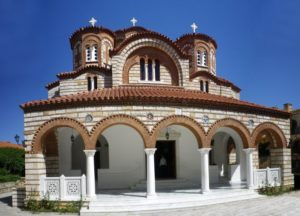 Iερά Kοινοβιακή Mονή Eισοδίων της Θεοτόκου Μαρκόπουλο Αττικής