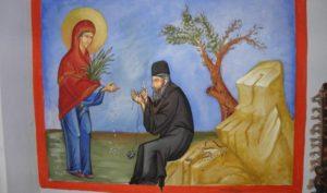 Τα δάκρυα της Παναγίας στο Κελλί Μαρουδά