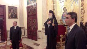 Νέα έκκληση του Αλεξανδρείας Θεόδωρου για τους Ελληνες στρατιωτικούς