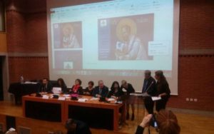 Ο Αρχιμ.Σπυρίδων Κατραμάδος σε εκδήλωση για τον θρησκευτιό τουρισμό