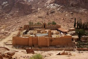 Αγία Αικατερίνη: Το μοναστήρι της στο Σινά