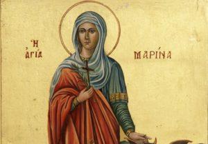Αγία Μαρίνα η μεγαλομάρτυς: Η πανέφημη νύμφη του Χριστού
