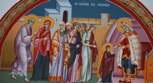 21 Νοεμβρίου- Γιορτή σήμερα: Εισόδια της Θεοτόκου