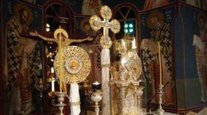 Τι είδε ο Αγιος Νήφων σε όραμα να συμβαίνει την ώρα της Θείας Λειτουργίας